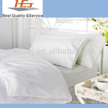 Set de draps de lit super simple Hotel Motel Hospital blanc