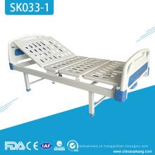 Cama ajustável manual do hospital barato de SK033-1 3 funções
