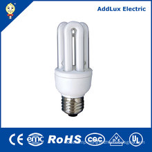 CE UL 5W - 15W 3u Energy Saving Lights 110-240V