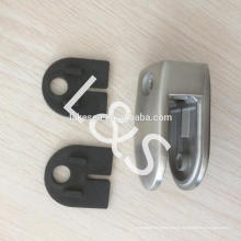 304 clips de vidrio de acero inoxidable a la abrazadera de vidrio, soporte de vidrio para barandillas / abrazaderas de manguera