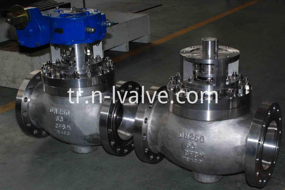 Top Enter Ball Valve