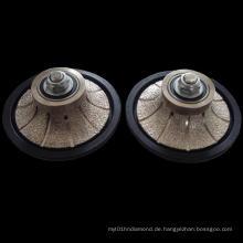 Vakuum-geschliffenes Handprofilrad: Handprofilrad für Fliesen