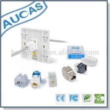 Fabrication d'une façade standard de haute qualité ou d'une plaque frontale 86 * 86 pour clé jack