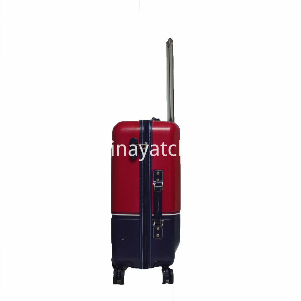 Contrast Color ABS Luggage