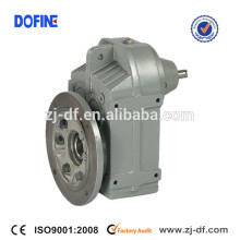 F127 parallel shaft mounted flange gearbox helical gear reducer gearmotor