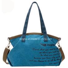 Printing Canvas Ladies Shoulder Handbag (ZXS0026)