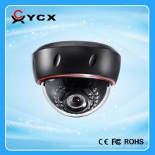 Hot new 1mp 1.3mp 2mp 3mp 2.8-12mm Zoom Lens vandalisme en plastique dome p2p onvif h.264 ip caméra