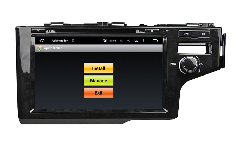 Honda FIT JAZZ  GPS Car dvd player