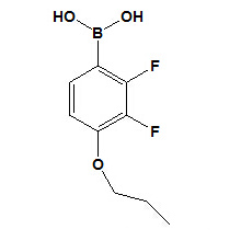 Ácido 2, 3 - difluoro - 4 - propiloxifenilbórico Nº CAS 212837 - 49 - 5
