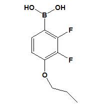Ácido 2, 3-difluoro-4-propiloxifenilborico CAS No. 212837-49-5