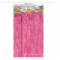 Cortina de folha de venda quente cortina de cor de arco-íris de suspensão