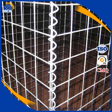 pvc galvanized welded gabion wire mesh