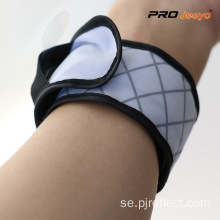 LED Nigh Vision Oxford White Plaid Armband