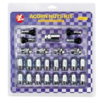 acorn nuts and locking nuts big kit