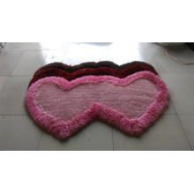 The Special Shape Carpet with One or Two Heart