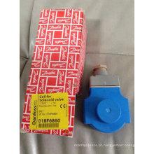 Bobina de válvula de solenóide de Danfoss (018F6860)
