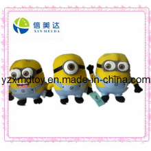 Plush Despicable Me Minions Cartoon Toys (XMD-0092C)