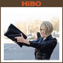 TOURBON Mulheres Legal Engraçado Embossment 3D Padrão Gun Saco de Embreagem De Couro Falso Cruz Corpo Envelope Bolsa de Ombro