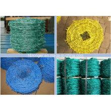 PVC-beschichtetes verzinktes Stacheldrahteisen