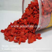 Dried organic goji berries extract
