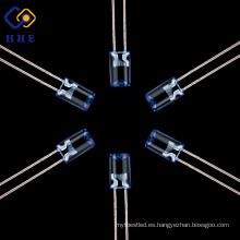 La lámpara cóncava azul ultra brillante de alta calidad de 5m m llevó la luz del diodo