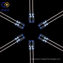 La lampe concave bleue lumineuse ultra-haute de la qualité 5mm a mené la lumière de diode