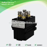 ADC200-DE 60VDC 200A IP56 2NO 2NC Magnetic DC Contactor, Used in Electric Harvester AOKAI DC Contactor