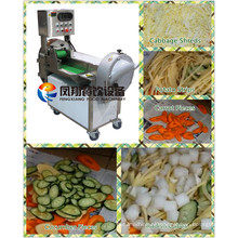 Double-Heads Operation Vegetable Cutting Dicing Slicing Machine with High Yield