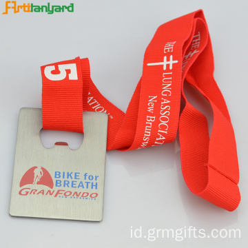 Terbaru Customized Medal Dengan Customer Ribbon