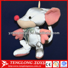 New material plush reflective toy stuffed toy keychain toy