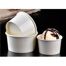 Custom Printed Disposable Paper Ice Cream Cup Choose The Size for Your Cup