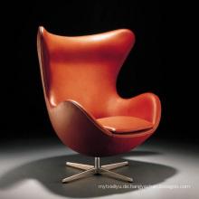 Geformte Ei-Freizeit-Stuhl für Büro oder Wohnzimmer