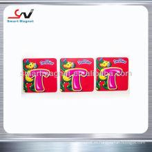 Imán suave promocional personalizado del refrigerador del p