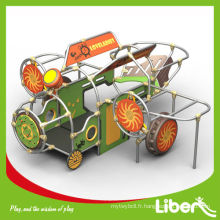 PE Board Novel Design Aire de jeux pour enfants en plein air pour la maternelle