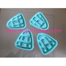 Electrical ODM Custom Molded Replacable Silicone Rubber Button
