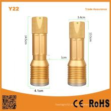 Y22 10W recargable luz de emergencia LED
