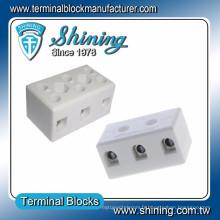TC-503-A M3.5 Vis 3 Pole 50A Thermocouple Connecteur de fil de porcelaine