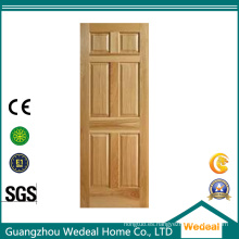 La chapa de madera aumentó el panel clásico y la fábrica de la puerta del estilo