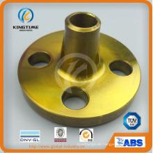 ASME B16.5 forjó el reborde del cuello de la soldadura del acero de carbono A105 (KT0213)