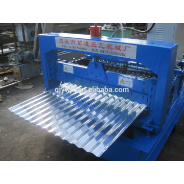 Customed Color Steel Tile Roll Forming Machine Made In China