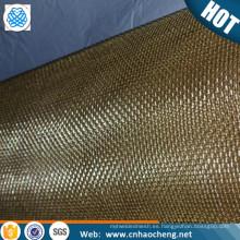 Papel ultra fino que hace la pantalla de malla de alambre del bronce fósforo de la malla de alambre de cobre