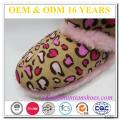 Fuzzy alineado caliente importados chicas botas de lujo