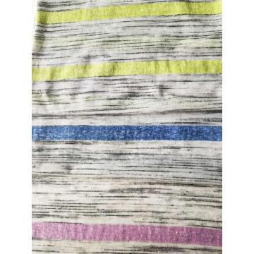 Poly Cotton Rayon Y/D Stripe Jersey