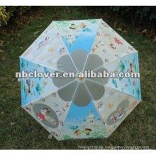 Werbe-Werbung automatische Kinder Regenschirm