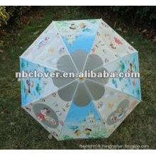 promotional advertising automatic children umbrella