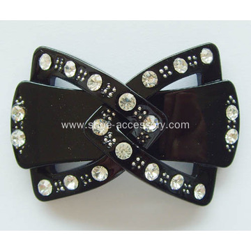 Unique Acrylic Rhinestone Buckle, Fashion Rhinestone Shoe Clips