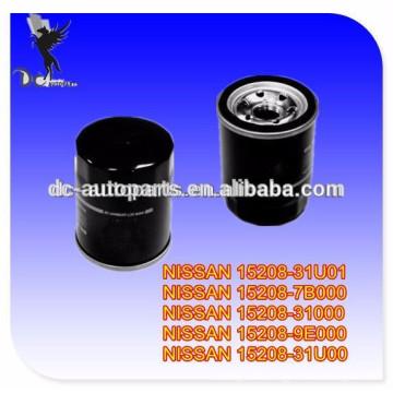 Car oil filter manufacture 15208-31U01,15208-7B000,15208-31000,15208-31U00 OIL FILTER