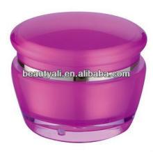 Акриловая кремовая банка для косметической упаковки