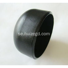 Butt Weld Pipe Fitting End Cap med ANSI B 16.9 Standard