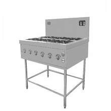 dapur dengan ketuhar elektrik gas pembakar 8